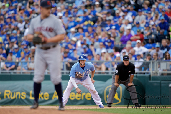Kansas City Royals vs Cleveland Indians 0914