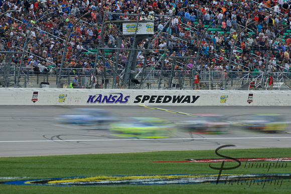 Spongebob Squarepants 400 NASCAR Sprint Cup Series Race @ Kansas 1193