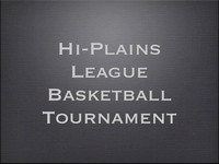 Hi-Plains League Basketball Tournament