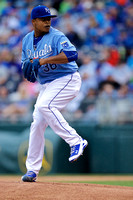 05.07.2015 - Kansas City Royals vs Cleveland Indians